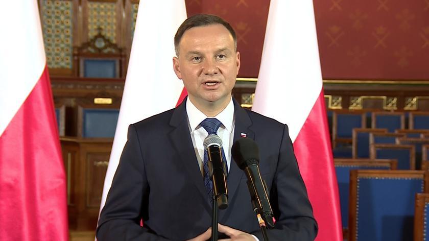 Prezydent: liczę na reset w stosunkach polsko-francuskich