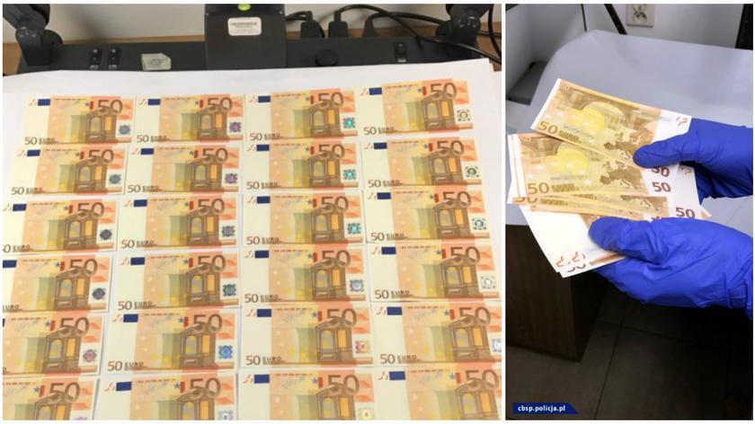 Euro było fałszowane w Polsce
