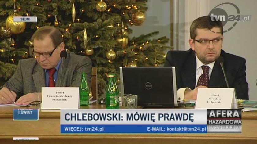 Chlebowksi pełen uznania dla Wassermanna, Arłukowicza i Stefaniuka/TVN24