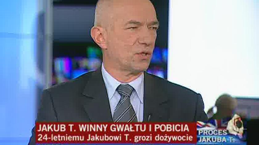 Ćwiąkalski: Jakub T. być może będzie odbywać wyrok w Polsce