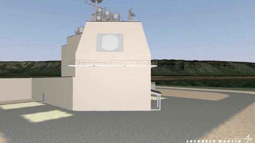 Dokładna wizualizacja elementów AEGIS Ashore