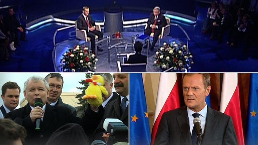 Donaldek, Donalduś, Donek i wreszcie Donald-Nic-Nie-Mogę. Zobacz etapy konfliktu Kaczyński-Tusk