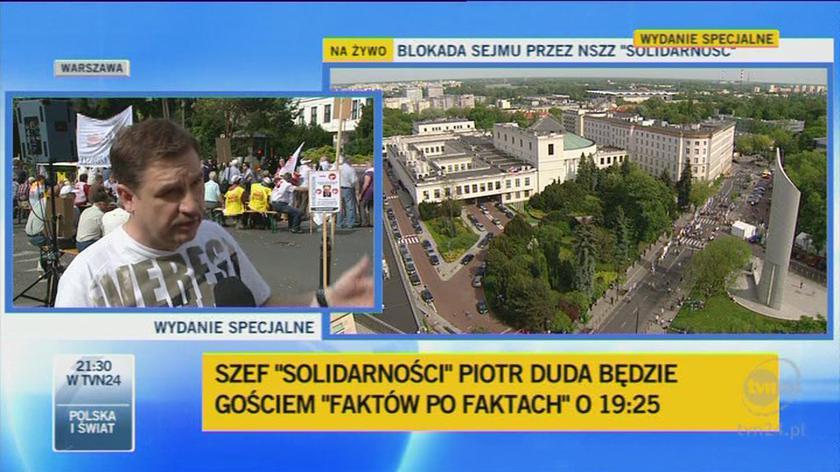 """Duda: """"Prędzej czy pćźniej pójdziemy pod Pałac Prezydencki"""""""