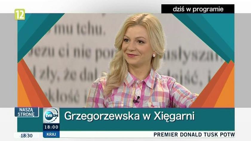 """Gaja Grzegorzewska w """"Xsięgarni"""""""