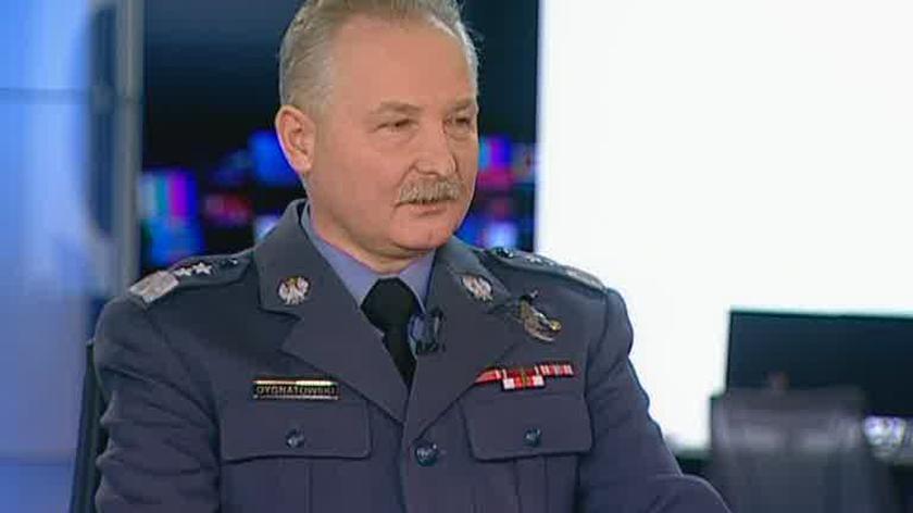 gen. Sławomir Dygnatowski o podejściu pilota do lądowania