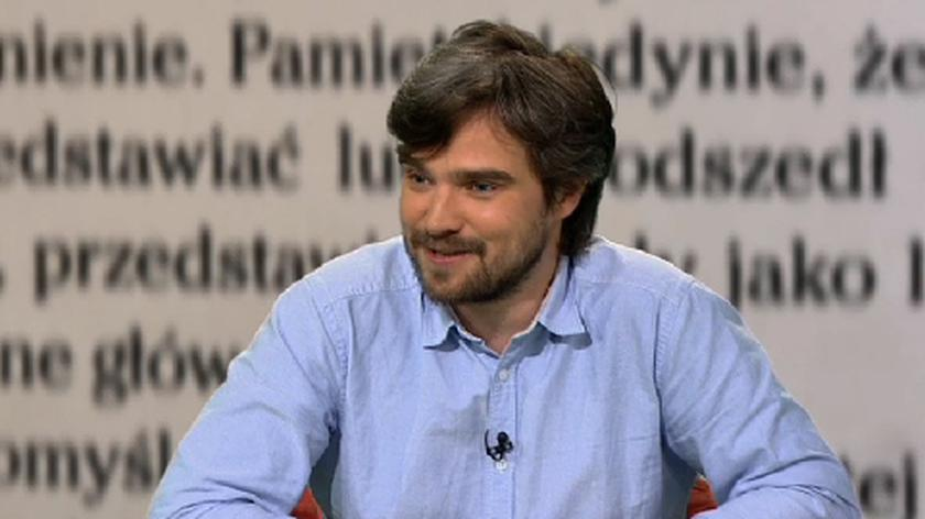 """Gościem """"Xsięgarni"""" był Zygmunt Miłoszewski"""