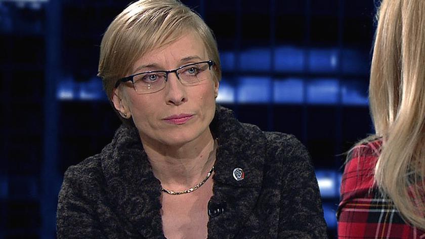Gosiewska: nie mam żadnych podstaw do podważania opinii prof. Cieszewskiego