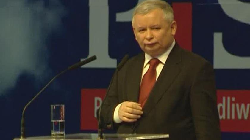 Jarosław Kaczyński o spotkaniu Tusk-Miller