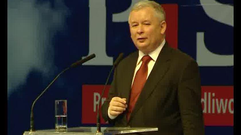 Kaczyński: PiS musi bronić tych, których nazywa się bydłem