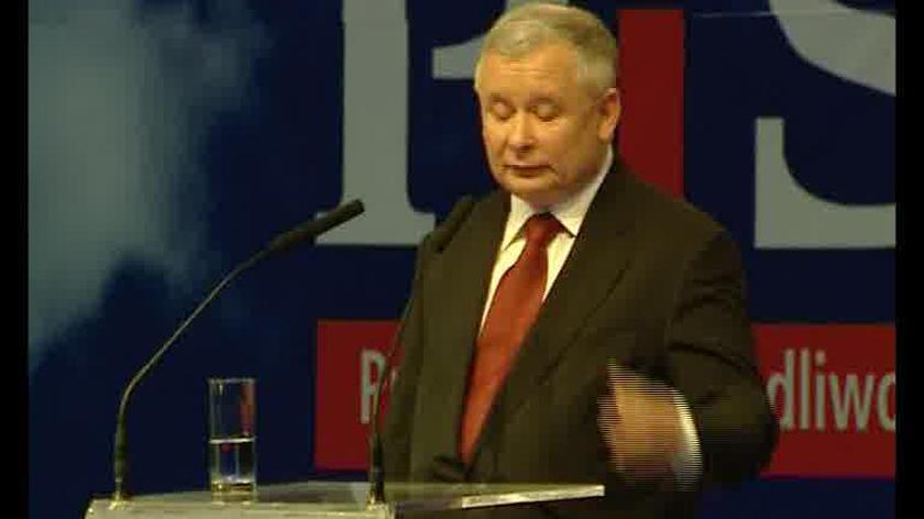 Kaczyński: Proszę o wotum