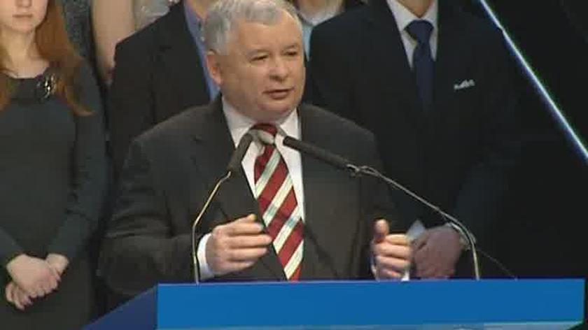 Kaczyński: Tuska bajki o podatku