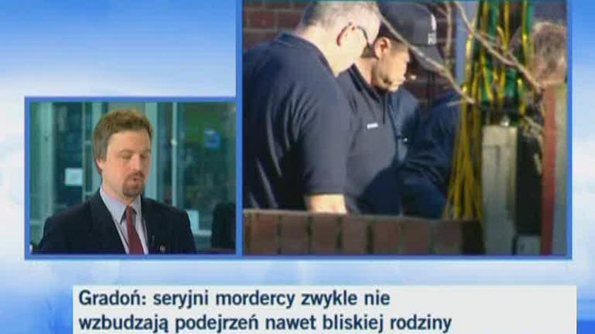 Kasper Gradoń, kryminolog UW