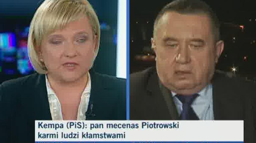Kempa: Dlaczego pan oskarża PiS? (TVN24)