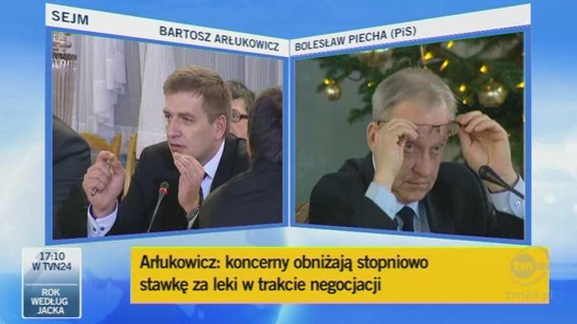 Konkretne leki, konkretne zmiany/TVN24