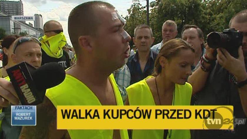 Kupcy blokują Marszałkowską