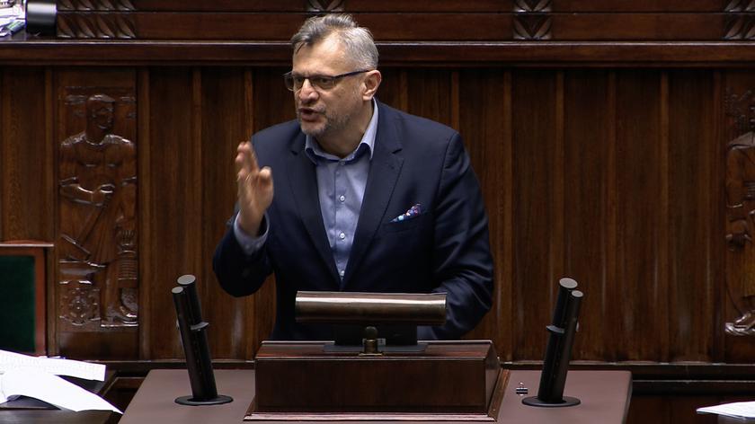 Lenz: to łamanie zasad parlamentaryzmu