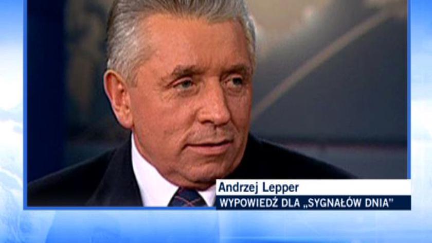 Lepper: Żeby wypromować LiS-a potrzeba czasu i pieniędzy