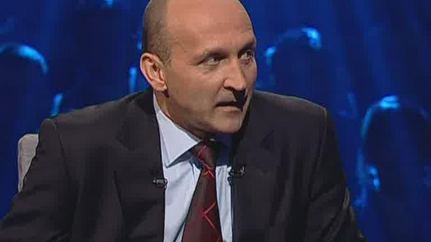 """Marcinkiewicz o """"cieniasach"""" (TVN24)"""
