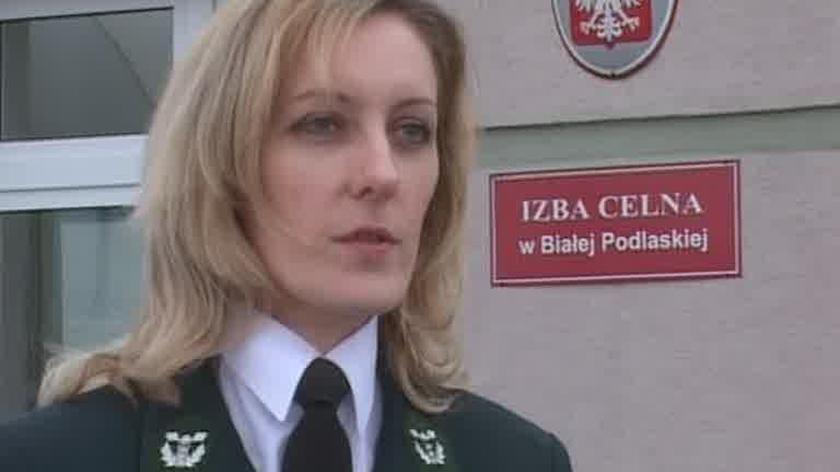 Marzena Siemieniuk, Izba Celna w Białej Podlaskiej: Do Dorohuska wracają celnicy.