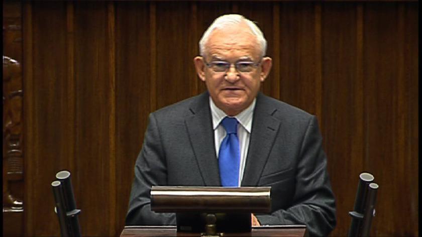 Miller: jest pani nie premierem, ale szefem sztabu wyborczego kolacji PO i PSL