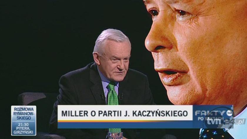 Miller o podobieństwu PiS i narodowego socjalizmu