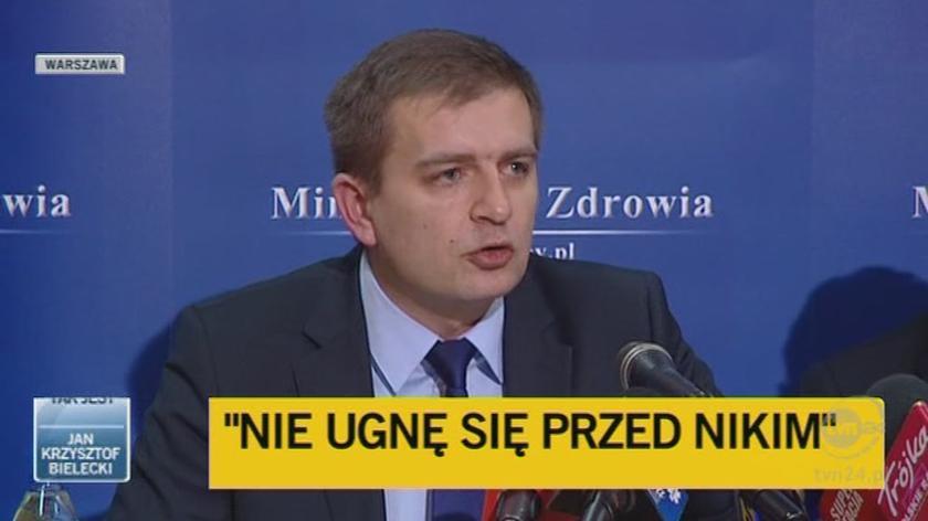 Minister mówi o lekach na cukrzycę (TVN24)