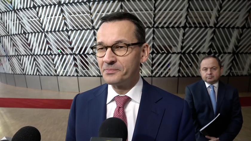 Mateusz Morawiecki przybył na szczyt UE w sprawie brexitu