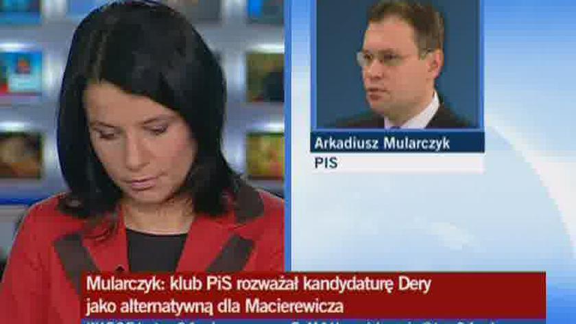 Mularczyk: Dera może zastąpić Macierewicza