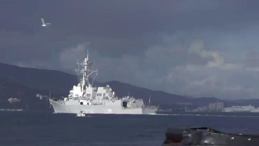 Niszczyciel US Navy ruszył na Morze Czarne