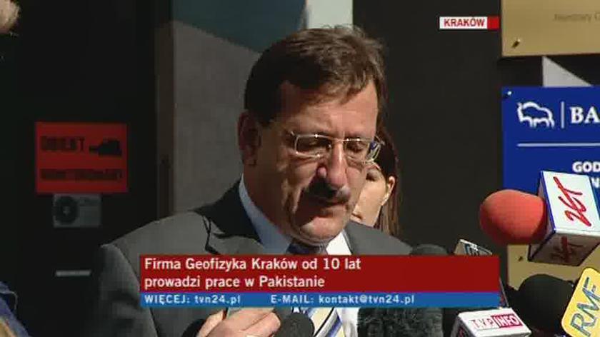 O sytuacji mówi prezes zarządu Geofizyki Kraków Leopold Sułkowski