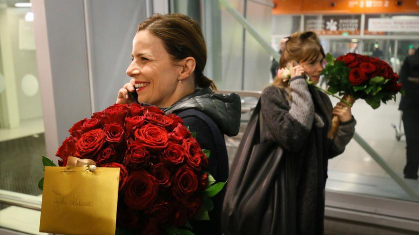 Trzebuchowska i Kulesza wróciły we wtorek wieczorem do Polski
