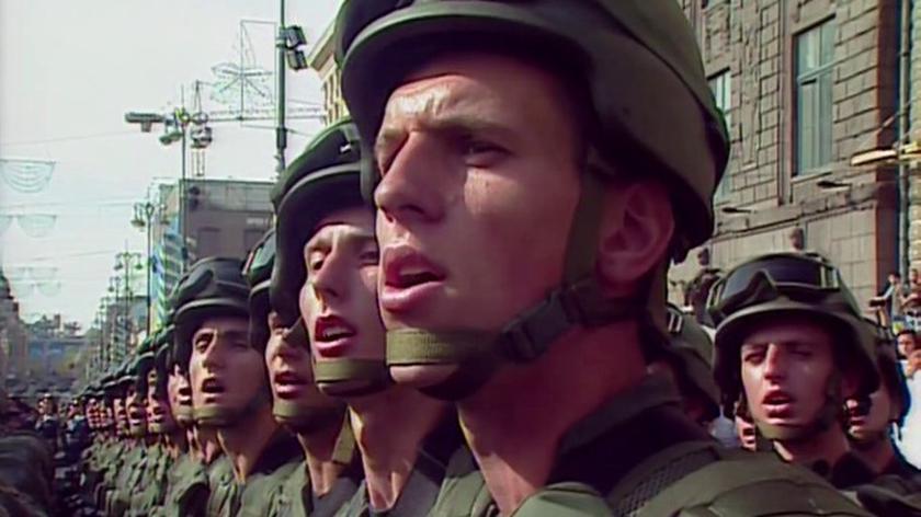 W paradzie wojskowej w Kijowie bierze udział ponad 1500 żołnierzy