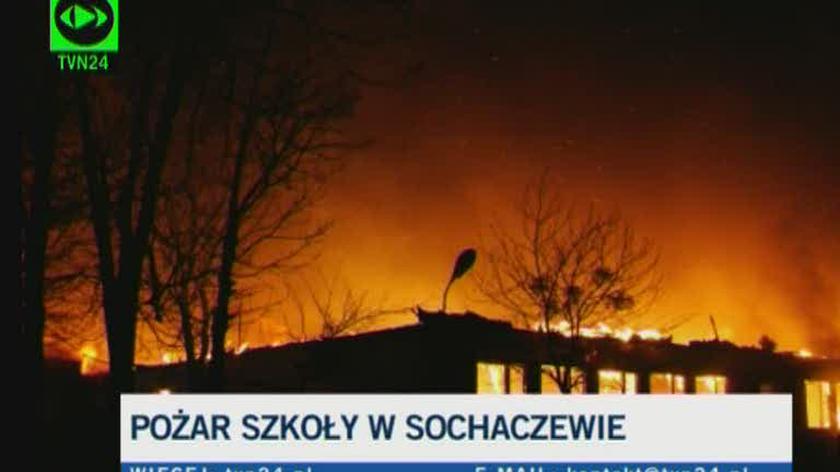 Paweł Frątczak ze straży pożarnej (TVN24)