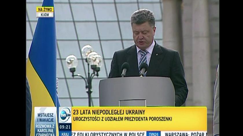 Petro Poroszenko: Wydarzenia ostatnich miesięcy stały się dla nas nie wypowiedzianą wojną