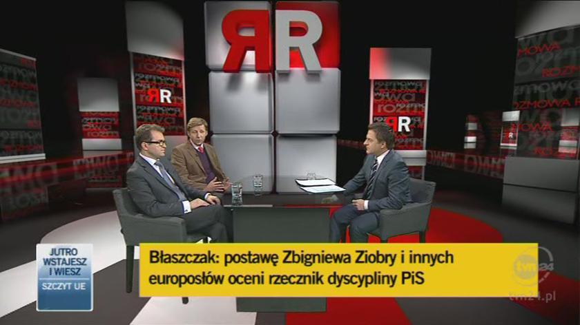 PiS zakończył spór na zewnątrz partii (TVN24)