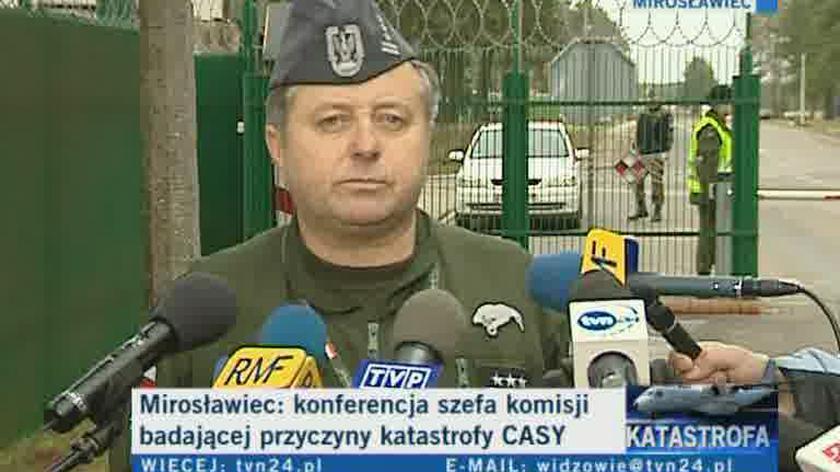 płk Drozdowski: musimy mieć spokój i dobre warunki do pracy