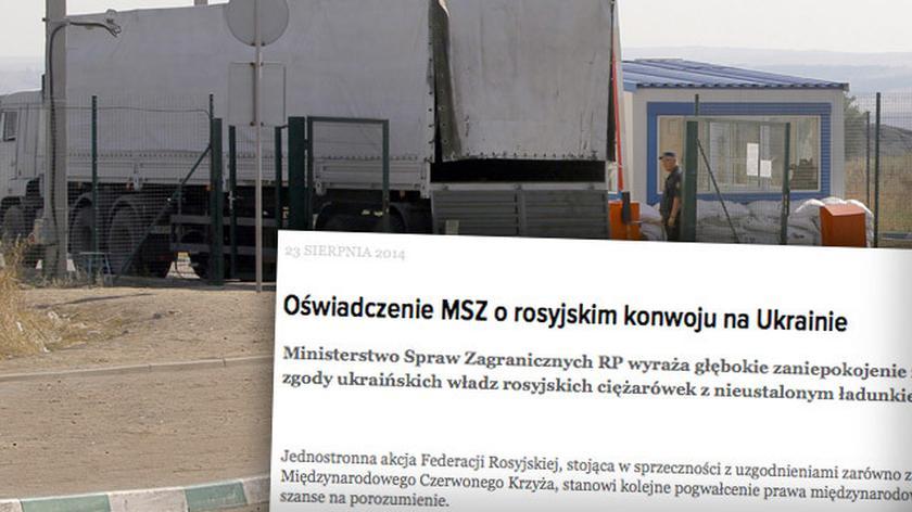 Polskie MSZ: działanie Rosji to pogwałcenie prawa