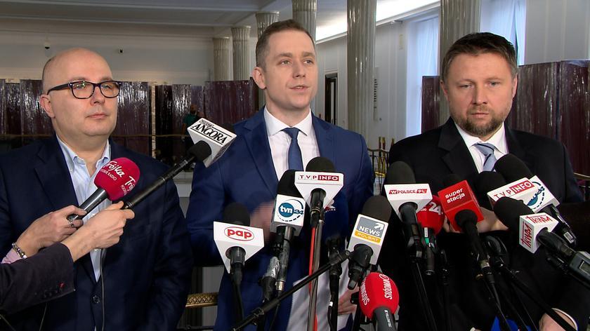 Posłowie PO zwracają się o zawieszenie koordynatorów służb