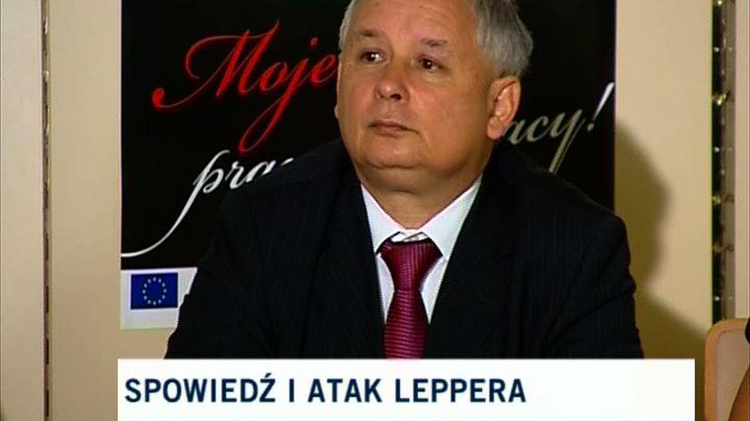 Premier: Andrzej Lepper to łgarz