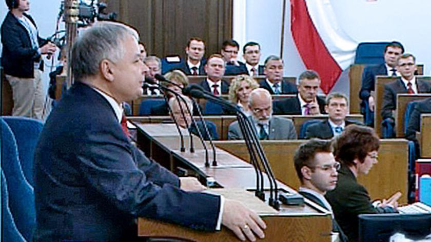 Prezydent na pierwszym posiedzeniu Senatu