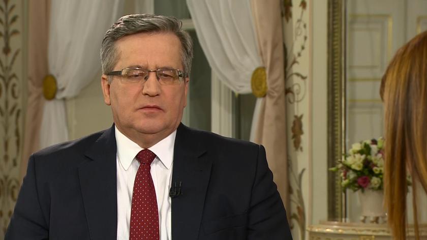 Prezydent o debacie przed I turą wyborów