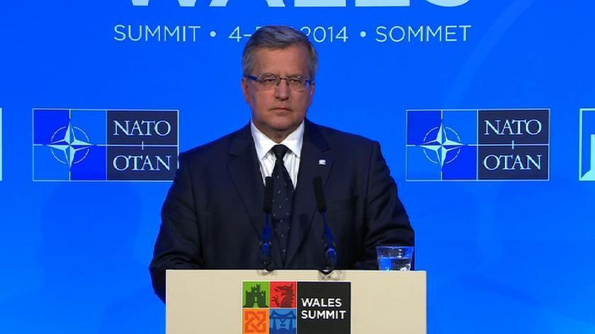 Prezydent: wzmocnić wschodnią flankę NATO