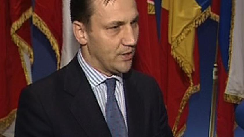 Radosław Sikorski żałuje, ale przyjeżdża