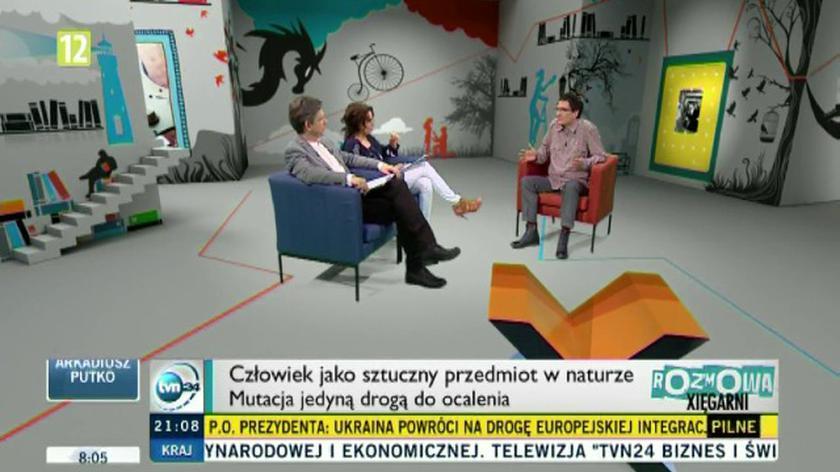 """Rafał Księżyk w """"Xięgarni"""""""