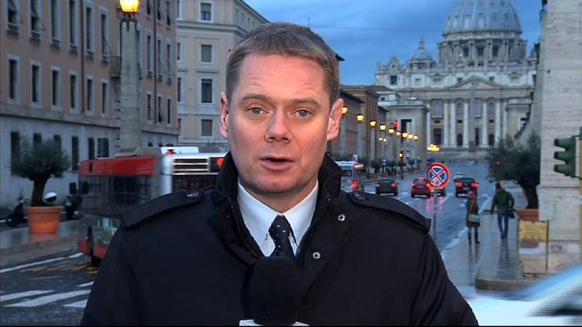 Rafał Poniatowski z Rzymu: w Watykanie powstało miasteczko dziennikarskie