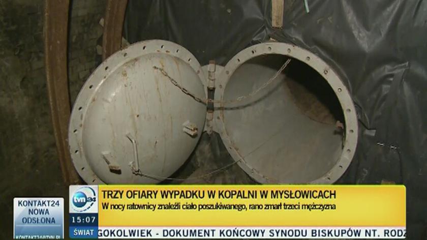 Ratownicy pracowali w kopalni Wesoła przez 12 dni