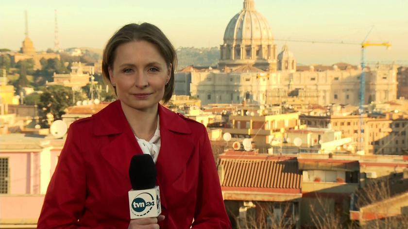Relacja reporterki TVN24