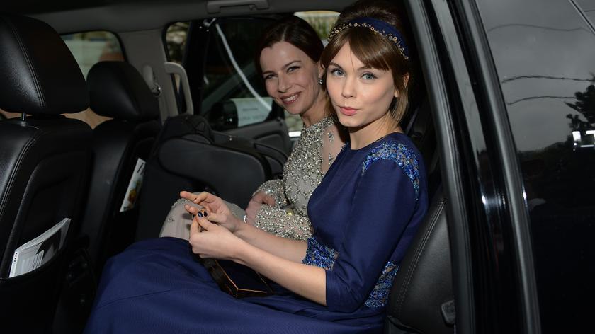 """Aktorki """"Idy"""" - Agata Kulesza i Agata Trzebuchowska - w drodze do Dolby Theatre"""