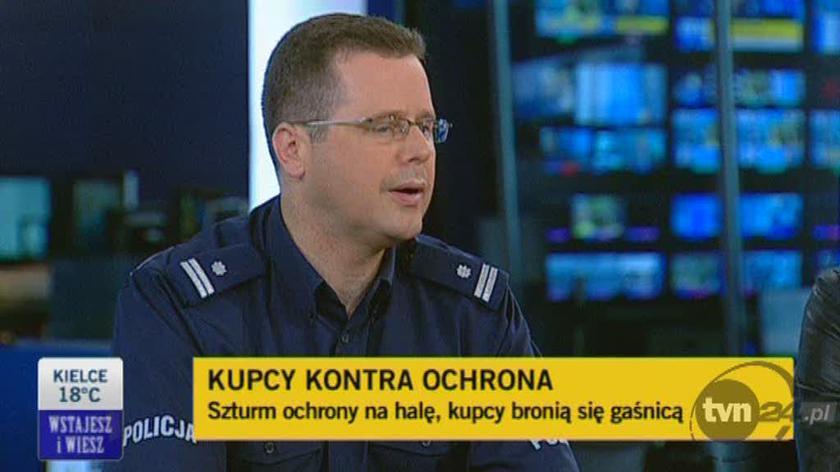 Rzecznik KGP Mariusz Sokołowski o KDT