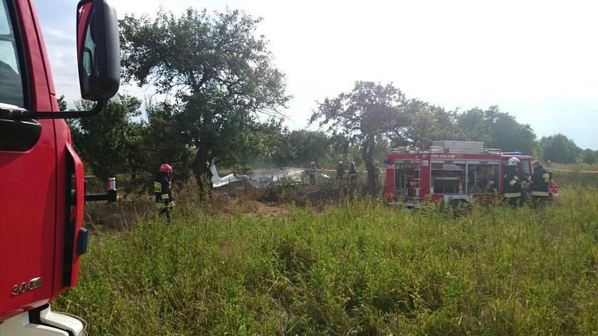 Rzecznik straży pożarnej: Nie żyją co najmniej trzy osoby